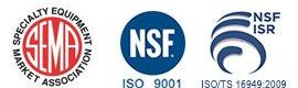 SEMA Member & NSF Certification logos